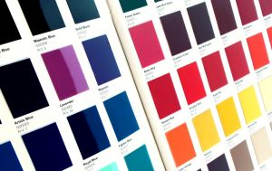 Color cards unlike the rest