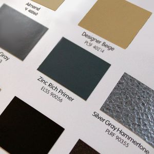 High Performance Color Card