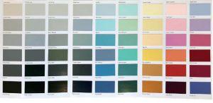 Colour Card Brochure