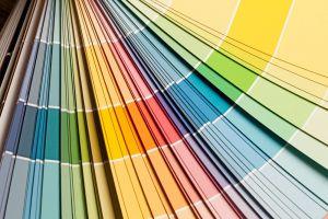 Portfolio color fan decks